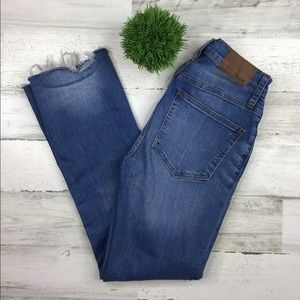 Madewell Cali Demi Boot Jeans Size 23